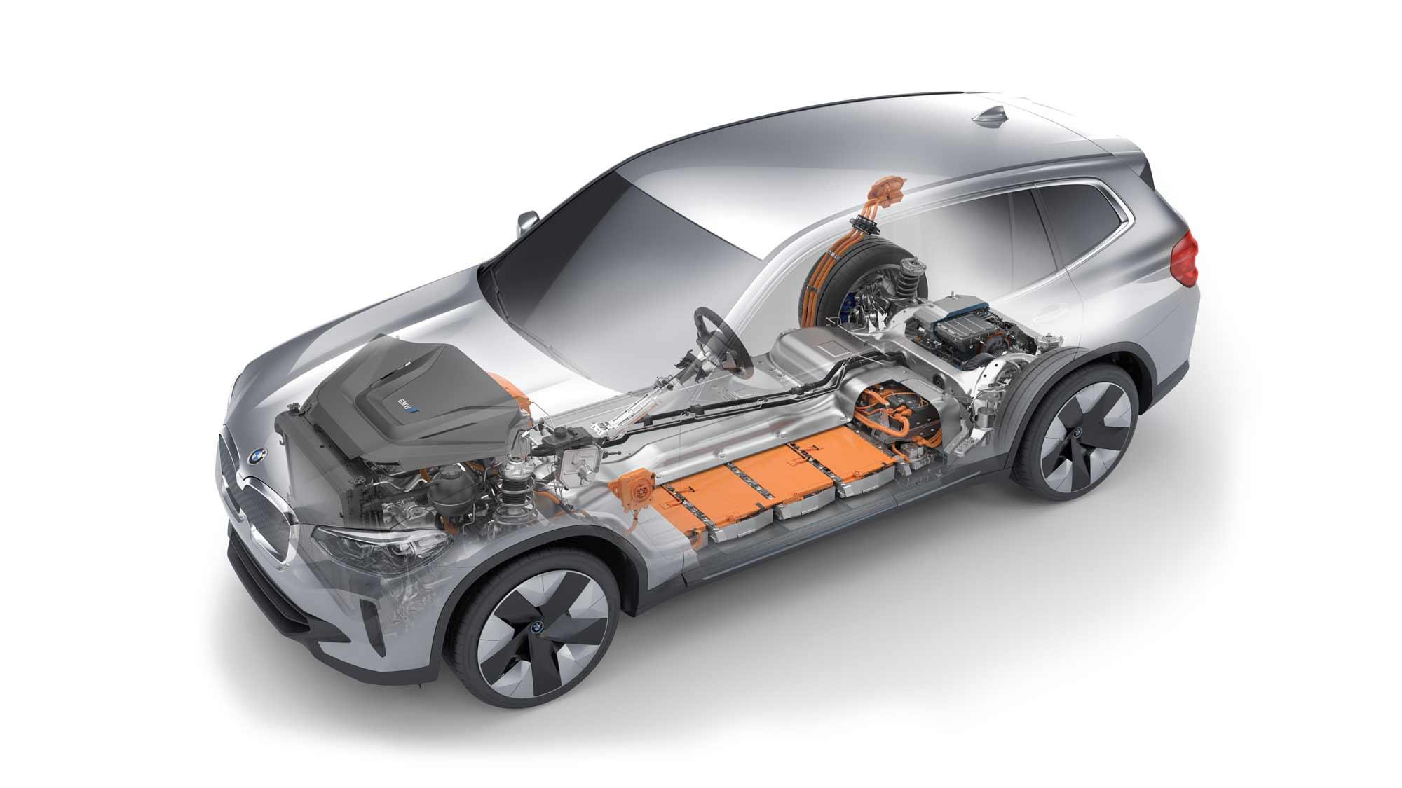 BMW iX3 Powertrain