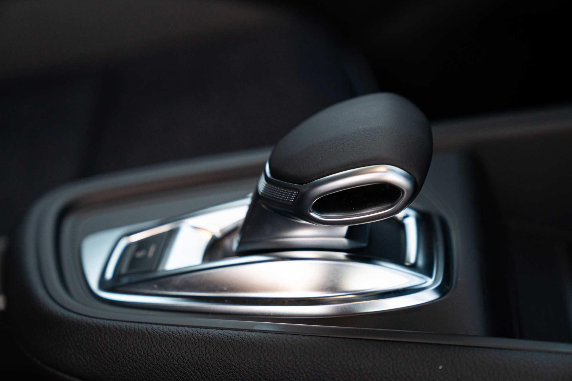 Dettaglio cambio Renault Captur Ibrida
