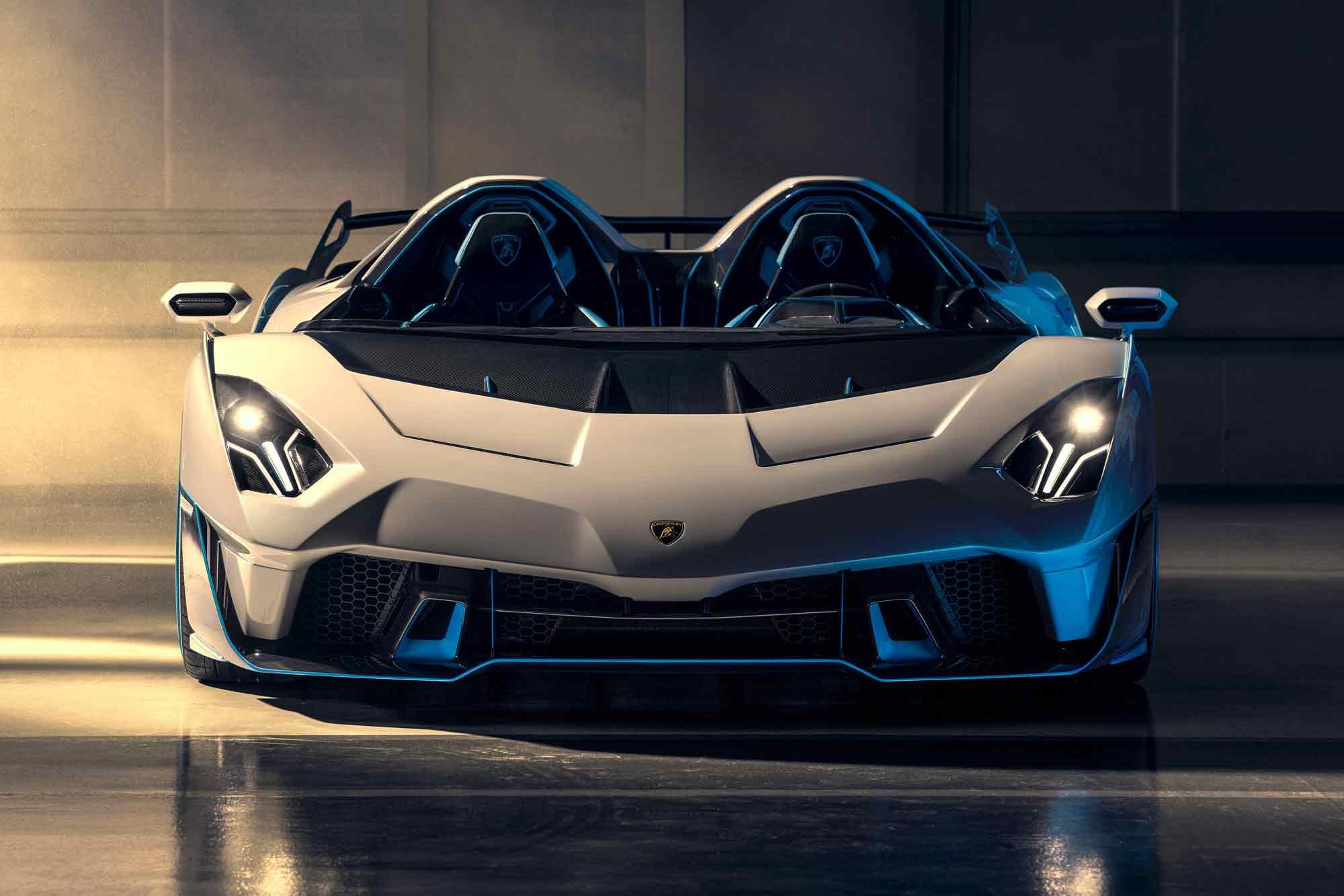 Frontale Lamborghini SC20