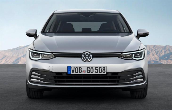 Frontale Nuova Volkswagen Golf 8