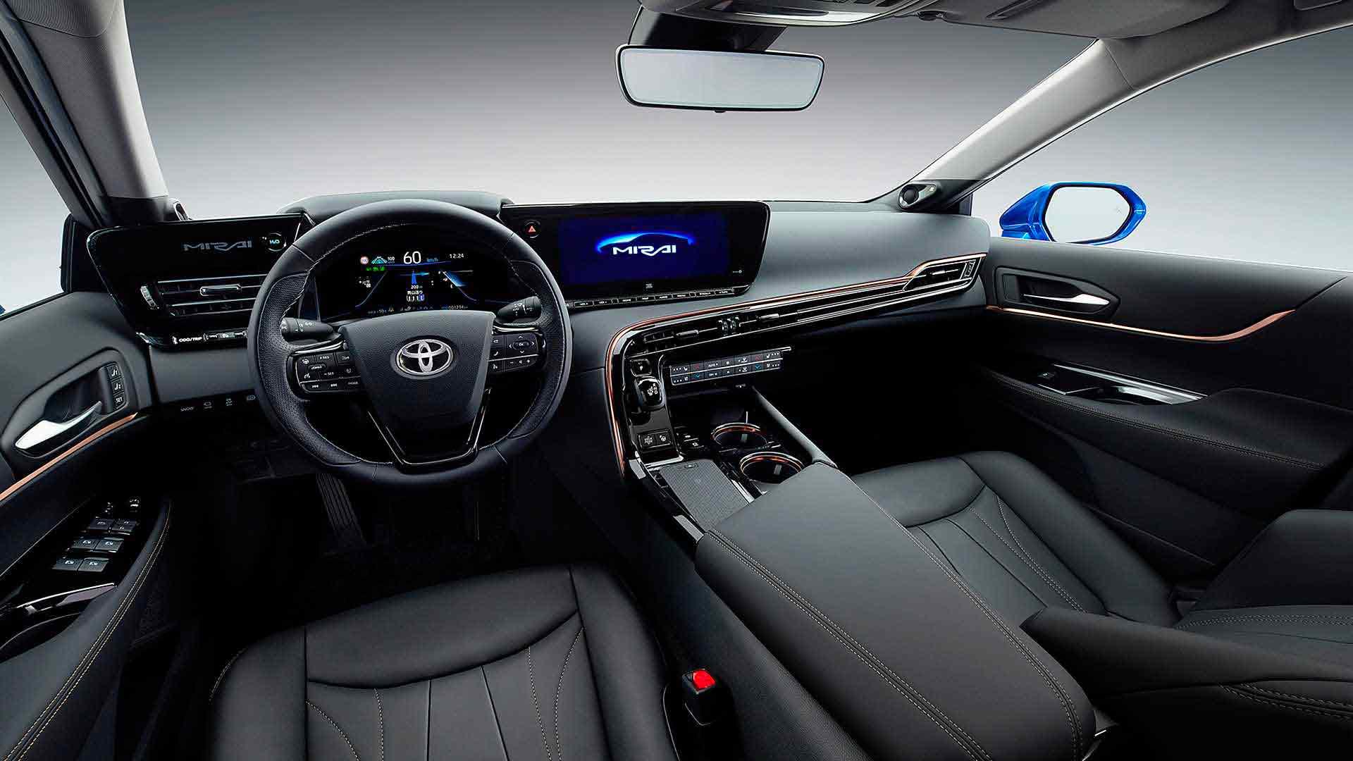 Interni Toyota Mirai