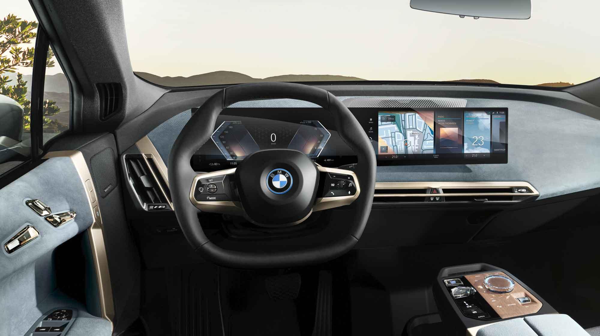 Interni BMW iX