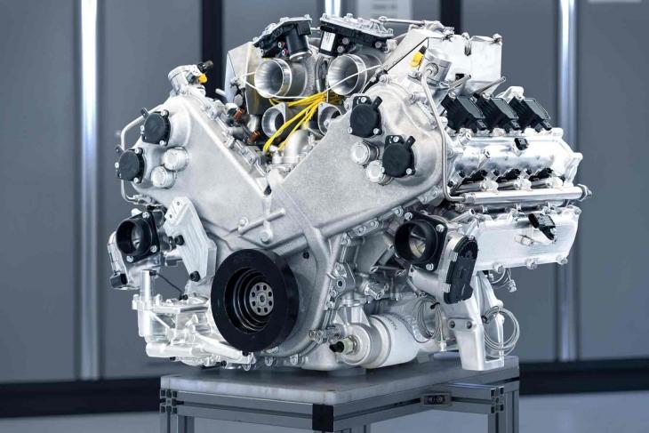 Nuovo propulsore Aston Martin V6 Engine