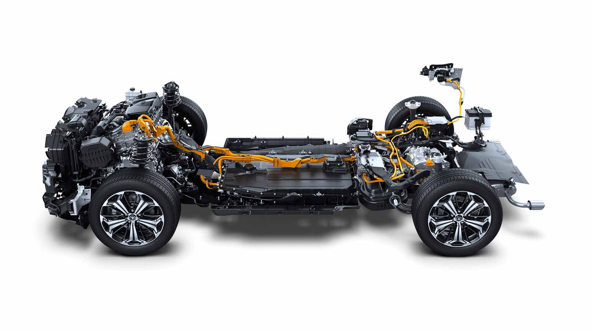 Piattaforma del sistema ibrido Toyota rav4