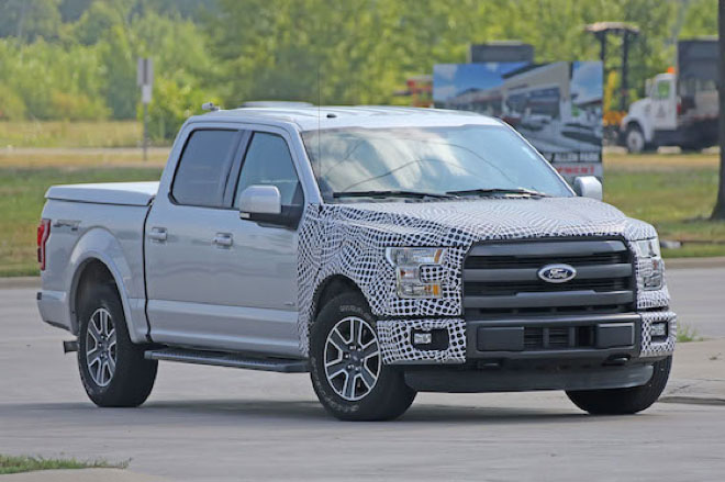 Un prototipo di Pick-up Ford