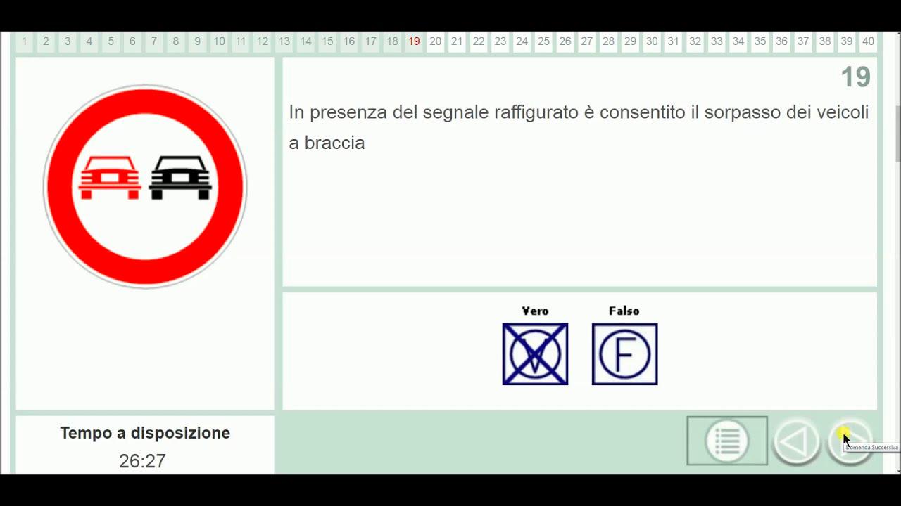 Quiz Patente B