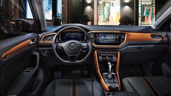 Interni Volkswagen T-Roc