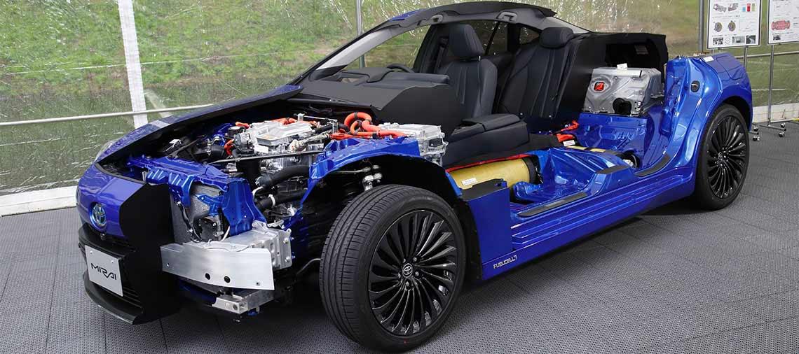 Tecnologia Toyota Mirai