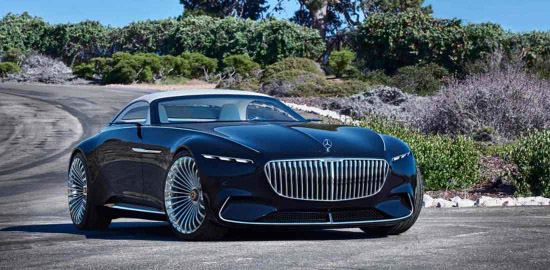 Mercedes Maybach 6 cabriolet costruisce i sogni